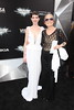 Anne Hathaway, Gloria Steinem 'The Dark Knight Rises' New York Premiere at AMC Lincoln Square Theater