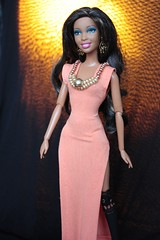 "Beyonce ""Run the world"" dress (PankPanna) Tags: fashion design dress handmade clothes beyonce handmadebarbiedress"