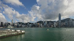 Victoria Harbour Time Lapse 2 (dawvon) Tags: asia china city cityscape cloud colors dark hk harbour hongkong hongkongisland kowloon landscape nature night nightshot ocean sea seascape sky skyscrapers stones sunset travel twilight urban victoriaharbour world                       timelapse