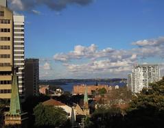Sydney's eastern suburbs and the harbour from North Sydney (john cowper) Tags: stpeters sydney newsouthwales northsydney sydneyharbour kirribilli bluestreet greenwayflats sydnweyharbourbridge