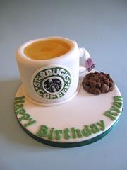 Starbucks Mug Cake (Cakes By Jacques) Tags: birthday coffee cookie tea brother starbucks mug choclate earlgrey cakesbyjacques