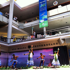 Afternoon Hula at Ala Moana Center Stage (biped_808) Tags: hawaii dance dancers hula hawaiian alamoana iphone huladancers instagram