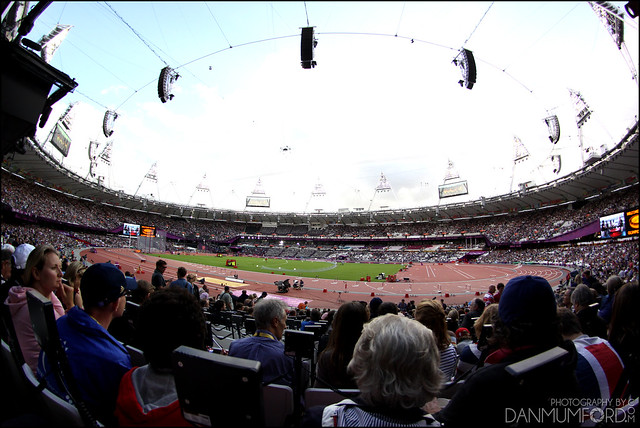 The Olympic Stadium Fisheye