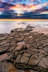 San Diego (Eddie 11uisma) Tags: california sunset seascape landscape golden san diego cliffs hour