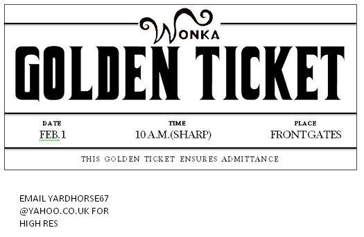 The worlds most recently posted photos of golden and wonka willy wonka golden ticket alitjob tags gold golden factory chocolate ticket charlie homemade pronofoot35fo Images
