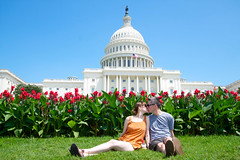 Farewell DC! It's been great (and hot) (rcrhee) Tags: vacation washingtondc photo gnome raw lawn photograph efs 1022mm 1022 capitolbuilding uscapitolbuilding beginnerdigitalphotographychallengewinner