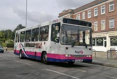 Service 40 (PD3.) Tags: uk england bus buses buildings first hampshire dash dorset portsmouth alexander dennis highbury dart psv pcv fhd hilsea hants cosham 40620 m248vww