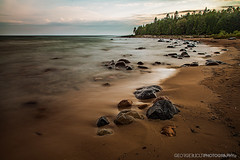 IMG_0069-Edit (George.Bucur) Tags: 2 portrait bw white black canon way landscape island 50mm long exposure mark f14 ii nd 5d manitoulin 50 milky 2012 24105 f4l 10stop 110nd