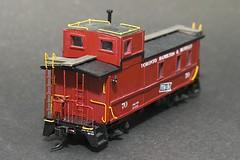 TH&B 70 Rear (Stephen Gardiner) Tags: toronto ontario pentax trains ho 187 railways 2012 modelrailroad modelrailway hoscale 1645 k20d quebecavenue