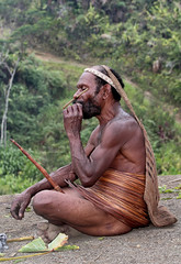 Asia - Indonesia / West - Papua / Yali tribe (RURO photography) Tags: indonesia asia asahi piercing bodypaint asie nosering png yani dali papua indonesi indonesien azi koteka jayapura wamena peniskoker neusring nosestick indunisia indonesies wamenafestival neusstok