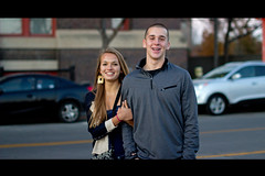 all smiles (rg69olds) Tags: couple downtown smiles cutie omaha oldmarket flickritis