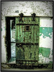 Eastern State Penitentiary ~ Original Door  ~ Philadelphia PA (Onasill ~ Bill Badzo) Tags: door philadelphia architecture us state pennsylvania district interior gothic places landmark historic prison pa national american jail fairmount eastern hdr alcapone penitentiary nrhp onasill