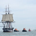 USS Constitution Sailing on Her Own August 19, 2012