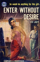 Exit Without Paying (Wires In The Walls) Tags: illustration vintage book paperback cover scanned pulp avon schulz 561 edlacy enterwithoutdesire