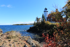 Eagle Harbor Lighthouse (Cole Chase Photography) Tags: autumn lighthouse fall upperpeninsula lakesuperior eagleharbor uppermichigan keewenawpeninsula michigansupperpeninsula eagleharborlighthouse canont3i eagleharbortownship