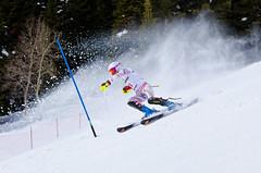USSA_Jr_champ (nevadoyerupaja) Tags: usa ski female youth race spring skiing wyoming slalom tetonvillage huser jhmr