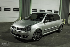 Clio 2 RS 3 (2004) (JDPhotoIDF) Tags: 2 3 2004 sport canon eos gris clio renault 24 iceberg mm 24mm phase rs f28 cv 182 500d renaultsport rs3 182cv rs2004