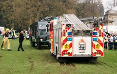 Saxon Stuck (MJ_100) Tags: show transport firetruck vehicle erf firedepartment saxon firebrigade 2014 westonpark fireservice