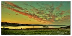 Laxfirth Sunset (Dickie Imaging) Tags: uk sunset sky clouds scotland unitedkingdom shetland dickie holm nesting gbr tingwall voe tronafirth laxfirth colindickie dickieimaging wadbistervoe