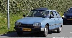 Citron GSA X3 1980 (XBXG) Tags: auto old france holland classic netherlands car mobile vintage french automobile nederland citron voiture frankrijk gsa 1980 paysbas ancienne x3 2016 vijfhuizen franaise citromobile citro citrongsa fy55pl