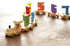 Wooden educational toy numbers train (freeimagesuk) Tags: kids train toy wooden engine numbers educational winding preschool kindergarten copyspace learn counting plaything carriages numerals arithmetic