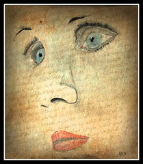 Portrait (patrick.verstappen) Tags: art texture face watercolor painting photo google eyes nikon flickr belgium image pat sigma gouache textured facebook picassa inkt twitter gingelom ipernity d7100 pinterest ipiccy