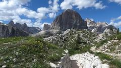 IMG_6027 (Bike and hiker) Tags: dolomites dolomiti cinque torri falzarego dolomieten