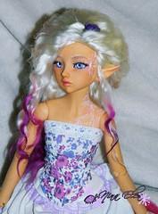 Cerlene with new angora wig ( hand made by me ) (Elea76) Tags: doll alyssa wig bjd angora 5star