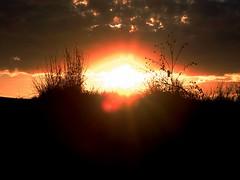 Setting Sun 1 (geoffleppard1) Tags: nature landscape texas country fujifilm roadside westtexas xs1