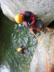 P1120387 (Mountain Sports Alpinschule) Tags: blue mountain sports lagoon canyoning zillertal zemmschlucht alpinschule