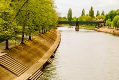 0075 (alexandaredwards) Tags: york city bridge trees nature water beauty landscape canal place bank