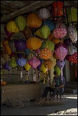 Farolillos artesanales (Mar Santorio) Tags: d50 nikon handmade vietnam hoian saigon artesania farolillos