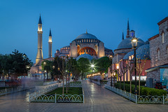 Hagia Sophia *Explored* (PixPep) Tags: longexposure turkey architechture istanbul bluehour hagiasophia ayasofia longtimeexposure diamondclassphotographer pixpep