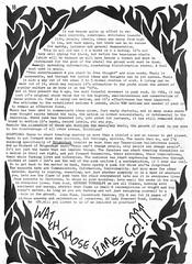 Incendiary fanzine (stillunusual) Tags: incendiary indie lush 1980s postpunk fanzine mikiberenyi gutterpress