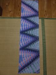 sarashi tenugui (asiadyer) Tags: japan japanese symmetry textile sacred tiedye dye dyeing psychedelic dyed shibori psychedelica sacredgeometry sarashi japanetsy shiboripsychedelic