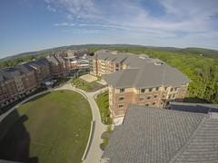 Aerial images of Binghamton University (BinghamtonUniversity) Tags: usa ny vestal aerials reslife 2015 residentiallife buildingsandfacilites dickinsoncommunity