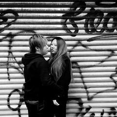 Angela (ShelSerkin) Tags: street nyc newyorkcity portrait blackandwhite newyork candid streetphotography squareformat gothamist iphone mobilephotography iphoneography shotoniphone hipstamatic shotoniphone6