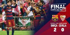 Copa del Rey (Final): FC Barcelona 2 - Sevilla FC 0 (footbamanagerallstar) Tags: soccer final bara fcbarcelona copadelrey ftbol sevillafc