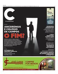 Capa Jornal C 27 Maio 2016