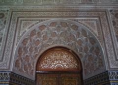 Morocco-Kasbah Telouet-Interior Detail.5-2016 (Julia Kostecka) Tags: morocco kasbah kasbahtelouet