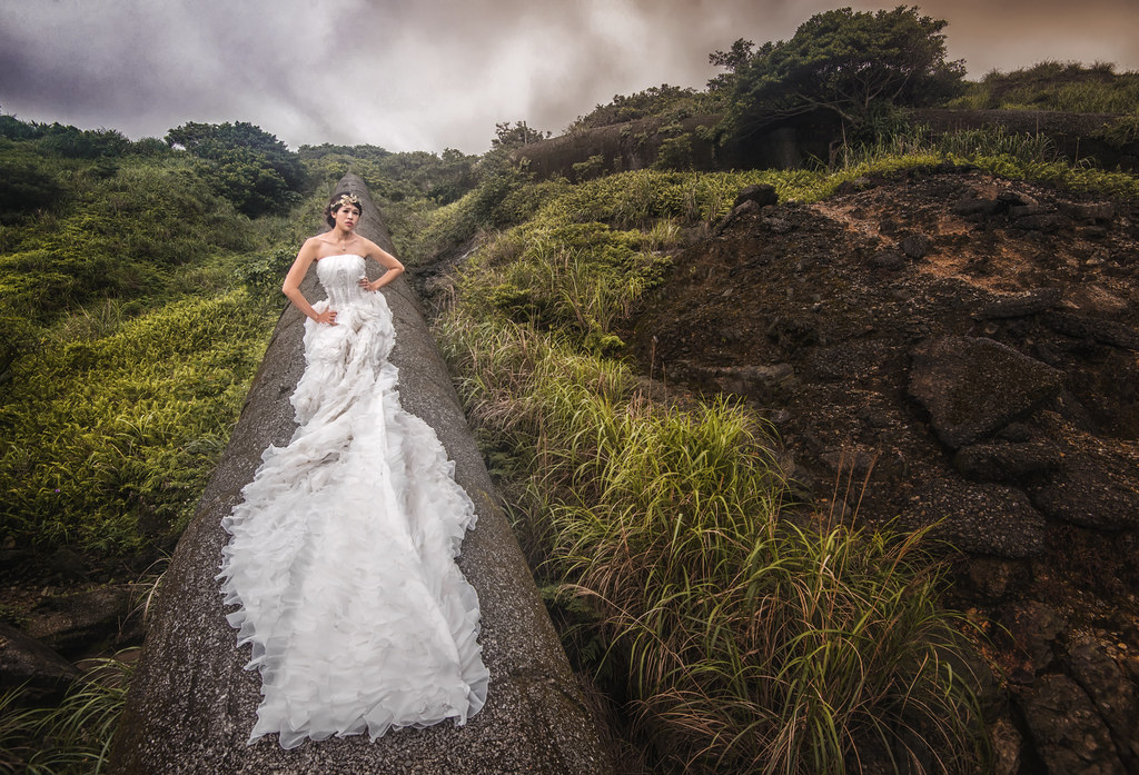 水金九婚紗,金瓜石婚紗,黃金瀑布婚紗,廢煙管婚紗,水湳洞婚紗,十三層婚紗