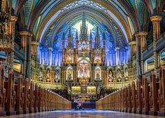 Notre-Dame Basilica - Montreal (2/3) (LorenzMao) Tags: canada church nikon downtown montral quebec montreal notredame d750 oldmontreal multicolor notredamebasilica churchinterior downtownmontreal notredamecathedralbasilica montrealdowntown quebecchurch nikond750 httpwwwlorenzmaophotographycom