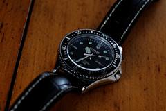 Citizen 51-2273 vintage diver (paflechien33) Tags: vintage nikon g watch diver citizen f28 vr afs d800 105mm micronikkor ifed sb900 sb700
