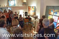 Mirando al Sur - Sala d'Art Nicols (Sitges - Visit Sitges) Tags: al sala escultura sur carmen dart artur pintura mirando nicols duch reciclart
