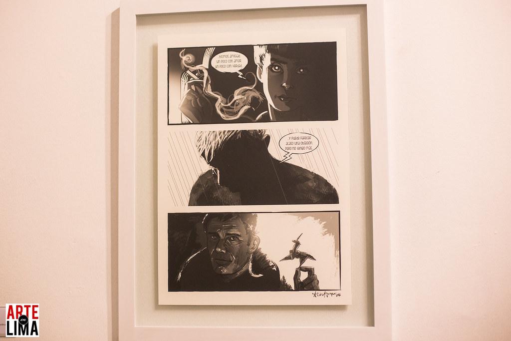 """""""Comics - Ciencia Ficción"""" en Galería Delbarrio - Christian Vargas"""