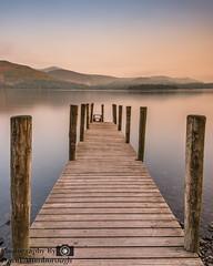 Derwent Water @ 5AM (dattenphotos) Tags: longexposure water derwent lakedistrict calm le cumbria nd derwentwater keswick tranquil neutraldensity nd10stop
