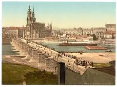 00939u (DenjaChe) Tags: dresden sachsen 1900 postcards 1900s postkarten ansichtskarten