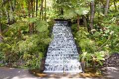 Waterfall feeding the Lake, Monte Palace Tropical Gardens (Brian Ritchie) Tags: portugal gardens monte madeira funchal montepalacetropicalgardens