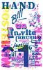 HAND Bill an INVITE - just for 1 NIGHT (Miss Mini Graff) Tags: show poster screenprint july exhibition posters qld queensland invite townsville handbill letraset minigraff 2016 screenprints handbillaninvite