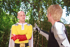 IMG_9997 (firecloak) Tags: male cosplay hero superhero cyborg opm akon genos onepunchman